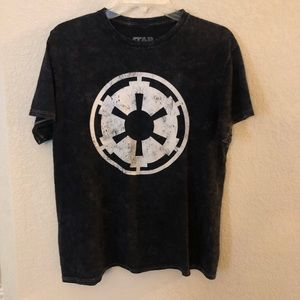 Star Wars Graphic Tee Shirt Galactic Empire Jedi S for sale